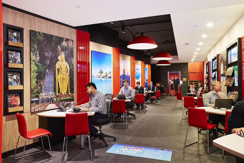 flight center store design 26