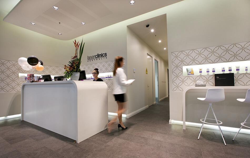 laserclinicsaus store design 3