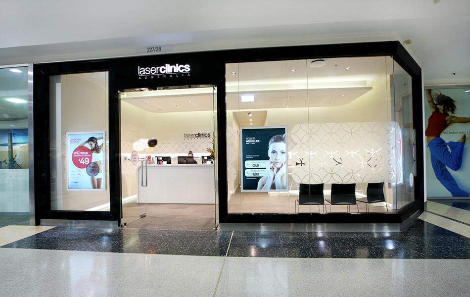 laserclinicsaus store design 4