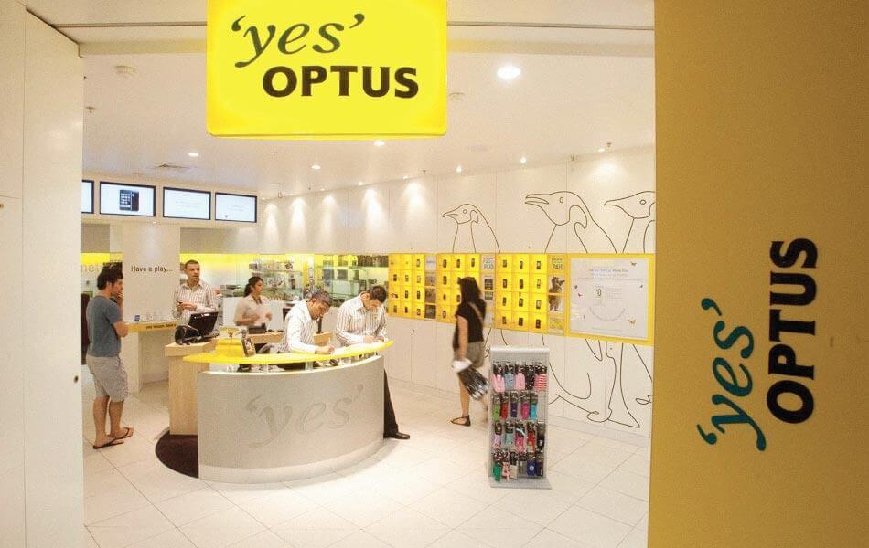 optus store design