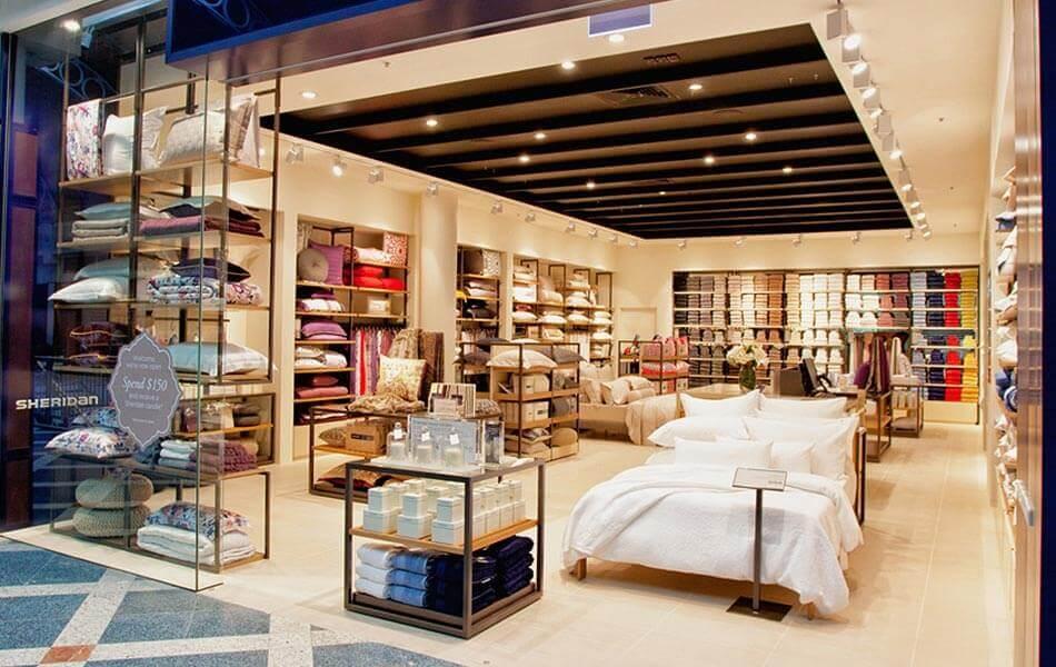 sheridan store design